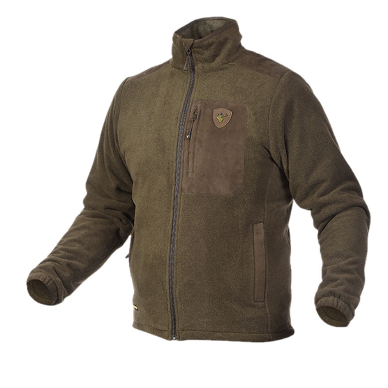 Alaska 1795 Dawson RS Fleece Jacket Forest Brown