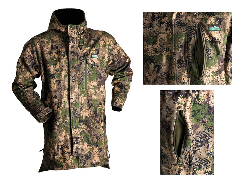 Ridgeline Wetterfeste Fleece Jacke Pro Hunt Jacket – DigiCAMO