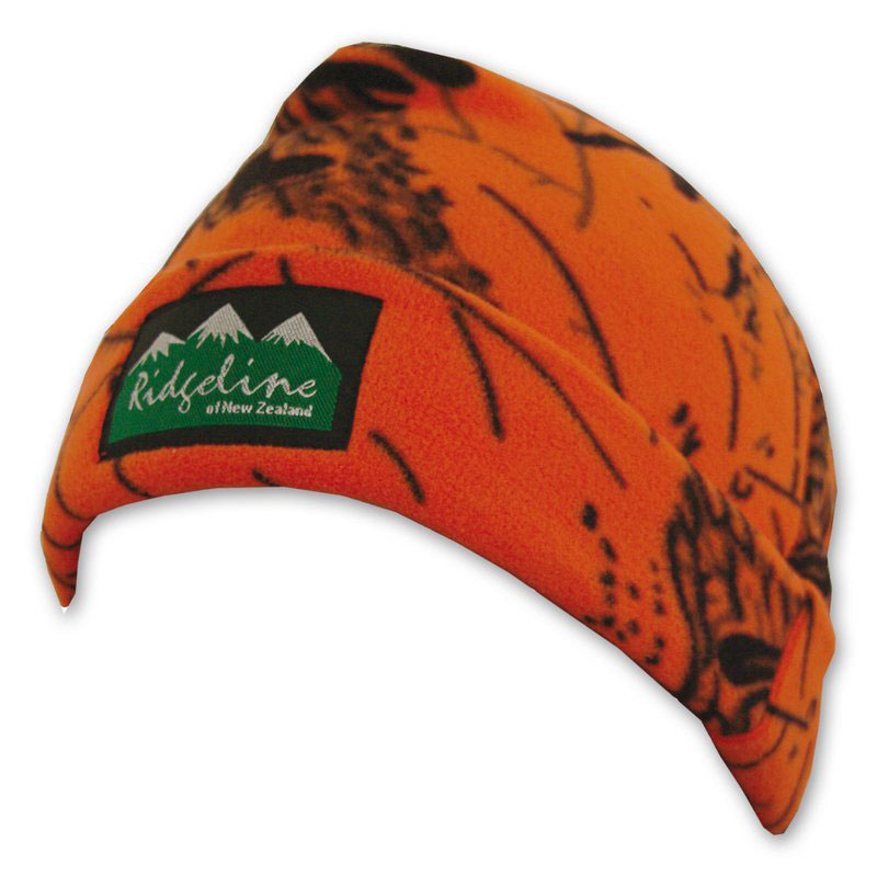 Ridgeline Fleece Beenie blaze orange