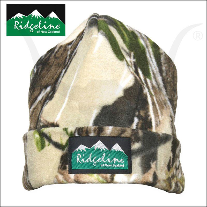 Ridgeline Fleece Beenie buffalo camo