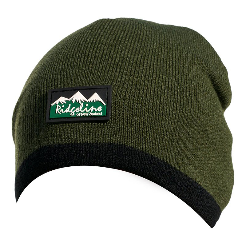 Ridgeline Fleece LINED Beenie olive