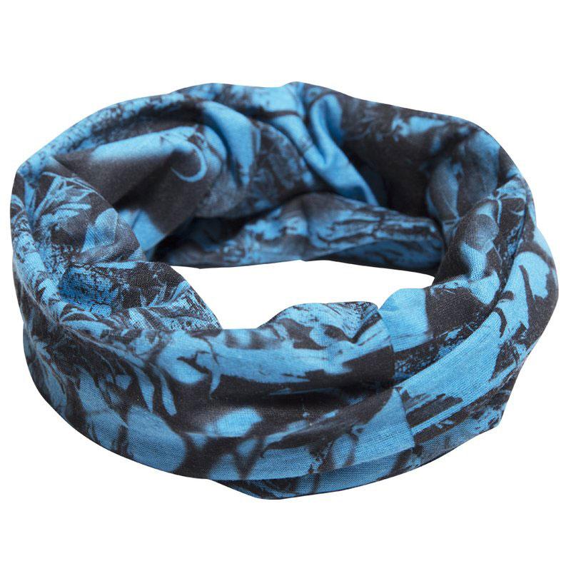 Ridgeline Bandana NEKETAI Headwear Blue Camo