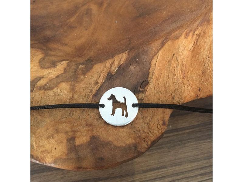 kleine Jagdschmuckschmiede Armband Silver Terrier