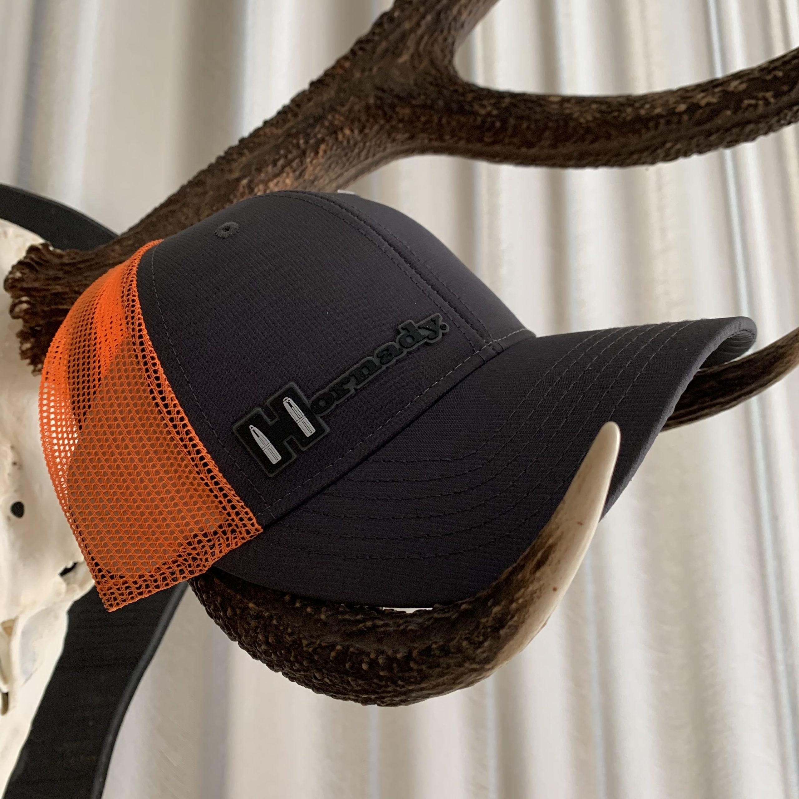 Hornady Base Cap Black Orange Sniper Mesh Cap Special Edition Hornady Gear