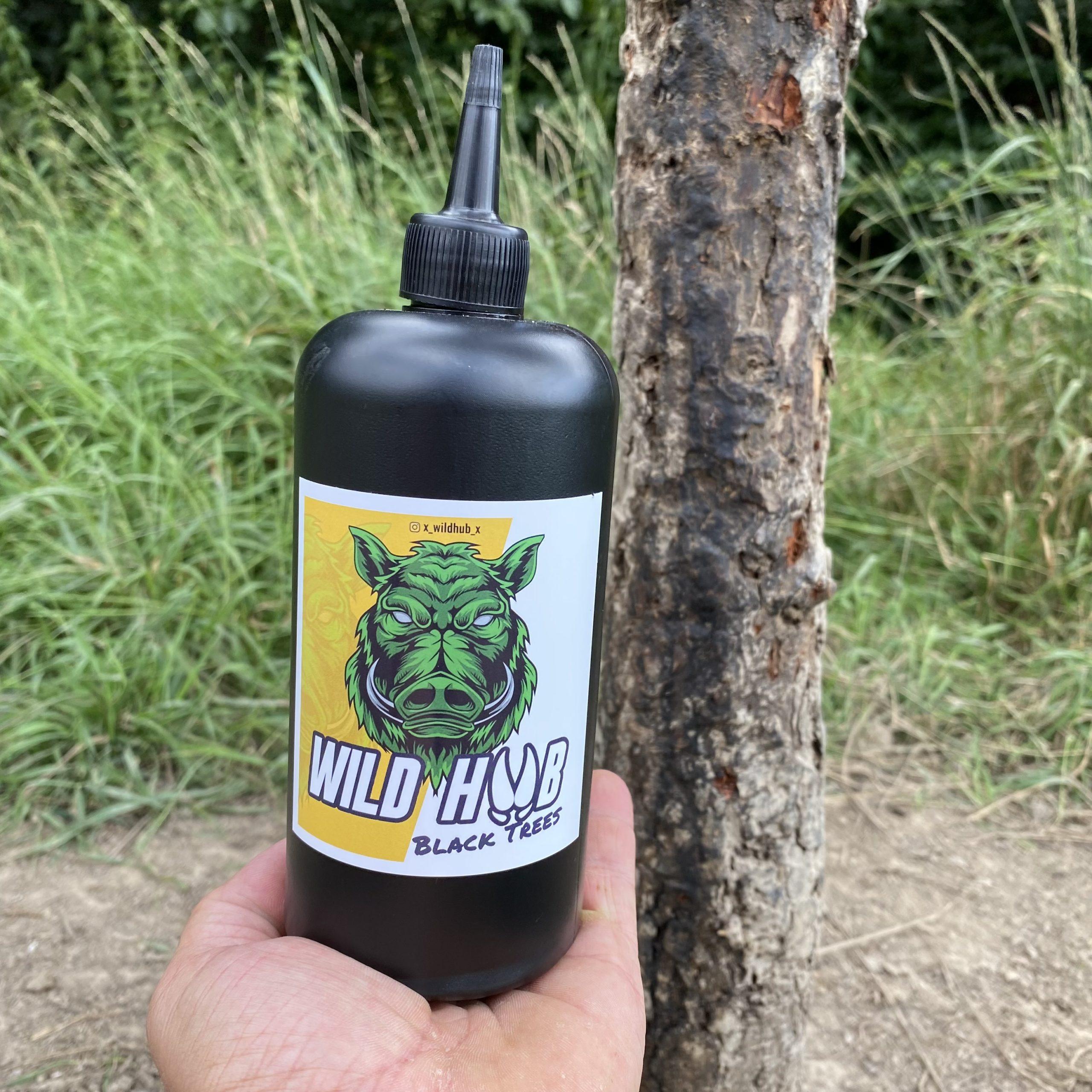 WILD HUB Black Trees Sauen Schwarzwild Schalenwild Wild Lockmittel 500ml