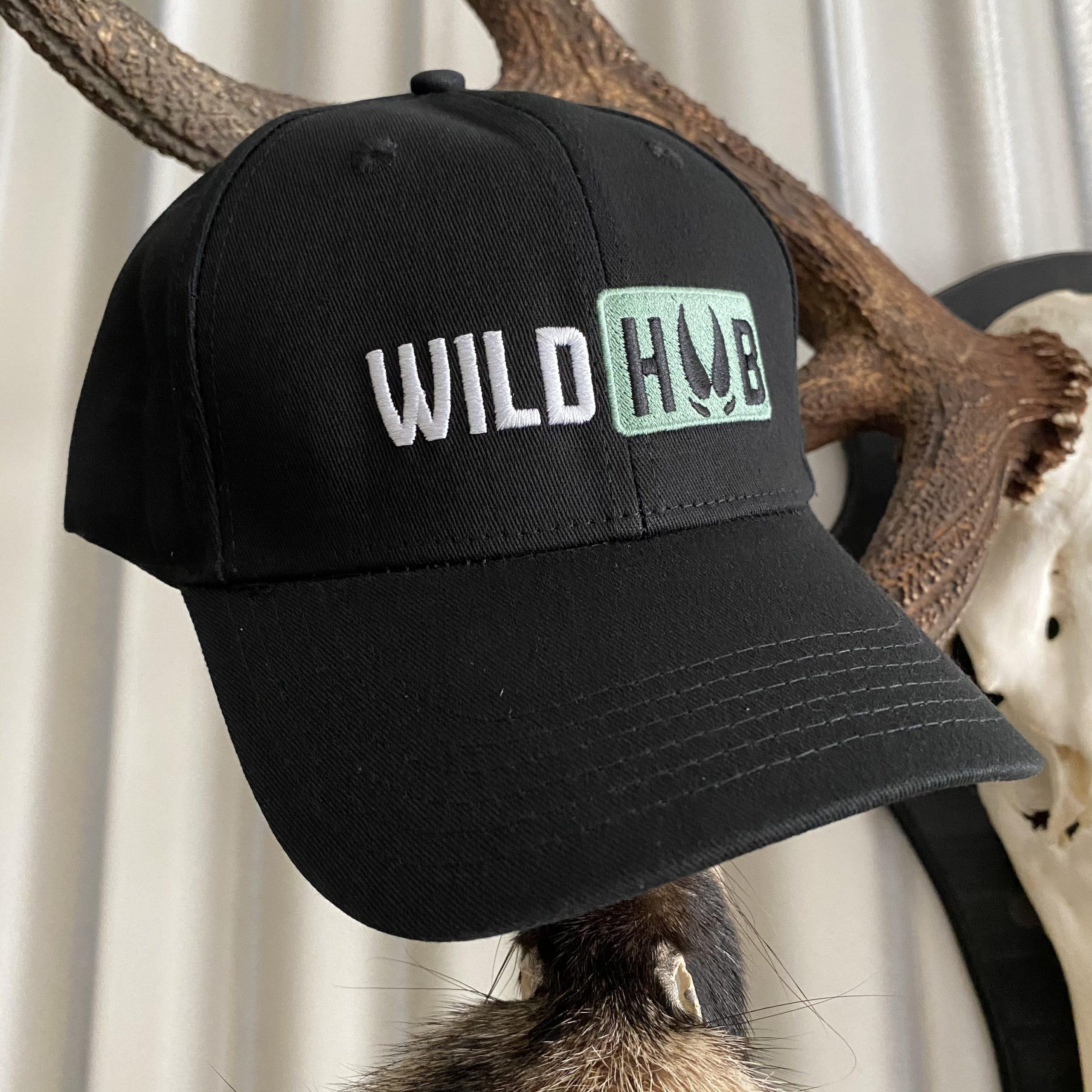 Wild Hub Flex Fit Cap Schwarz