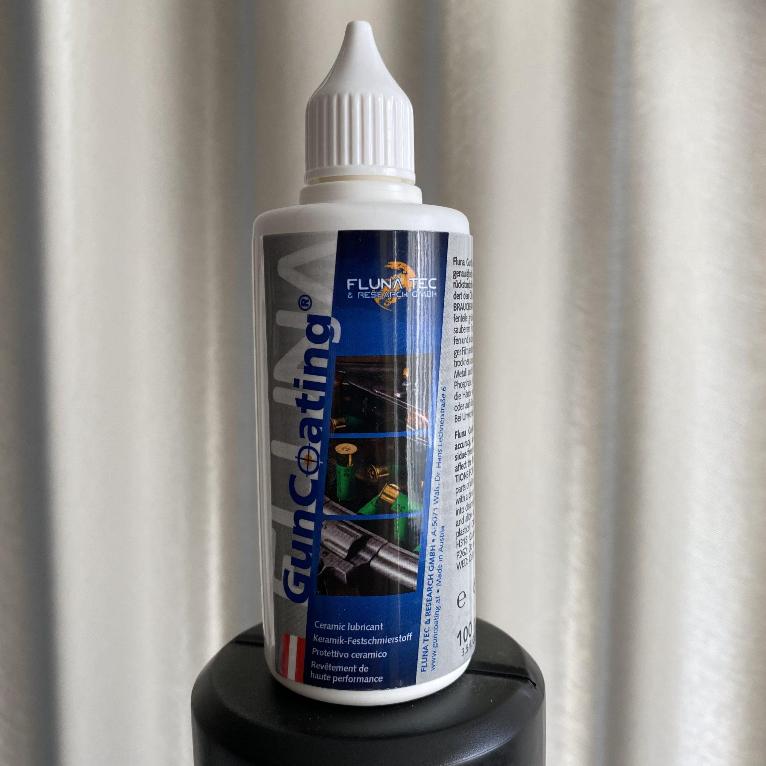 Waffenpflege Fluna Tec GunCoating 100 ml flüssig Keramik Öl